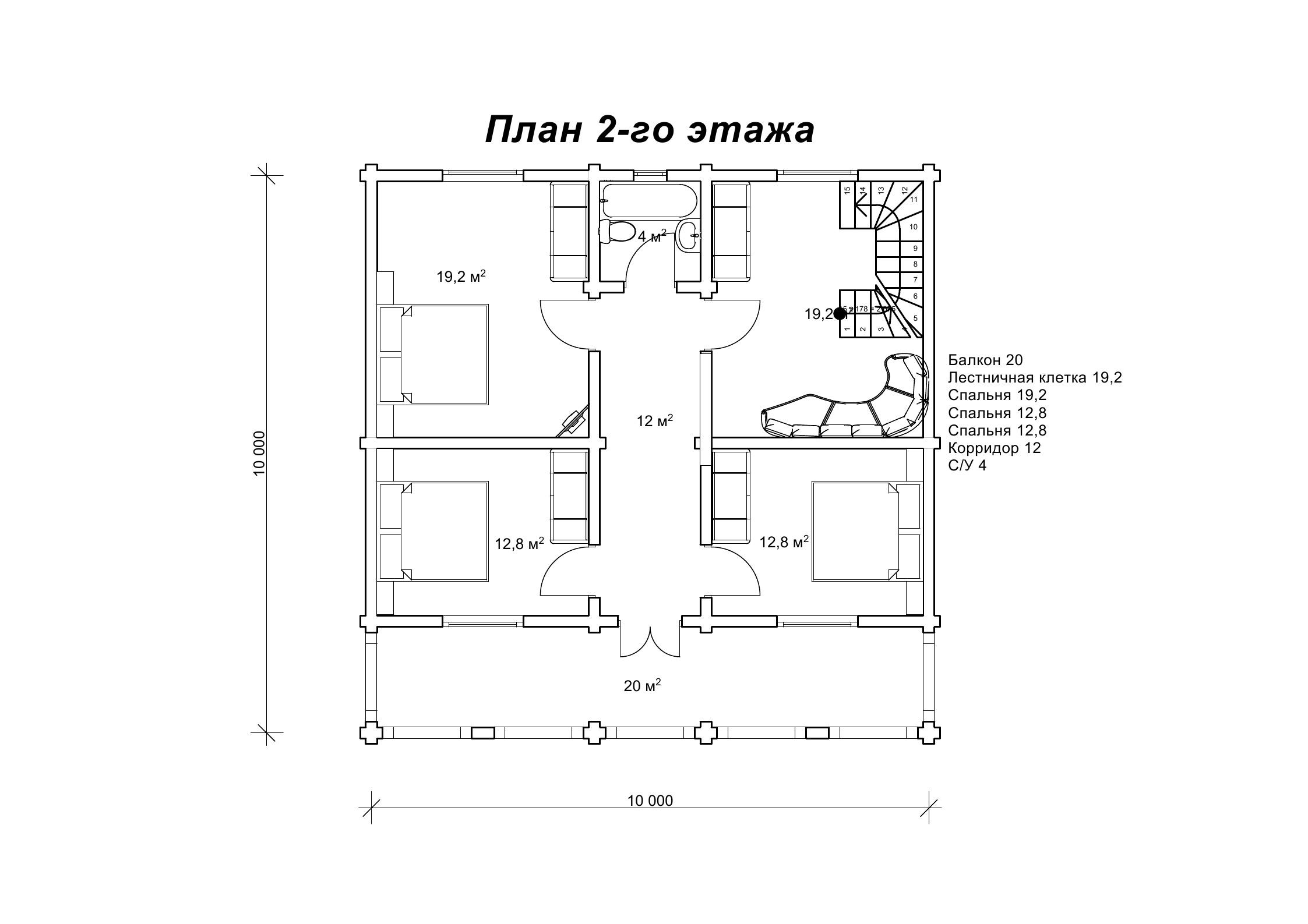 Деревянный дом «Абия»