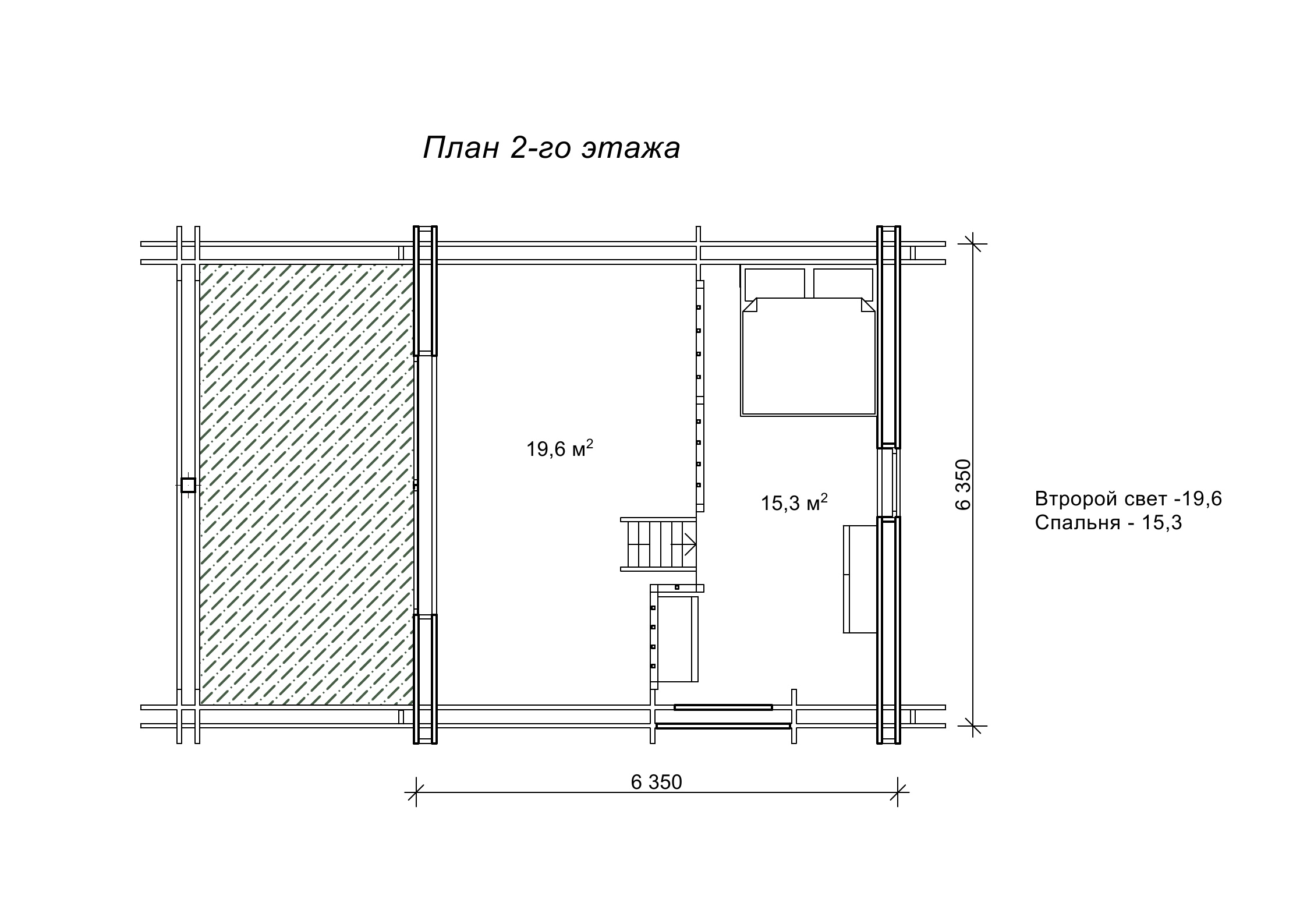 «Баура» – проект дома с баней
