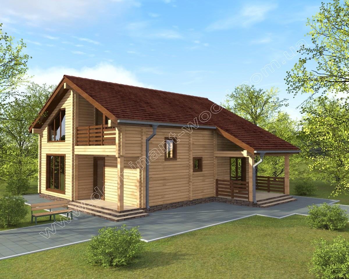 Деревянный дом «Эмиус»