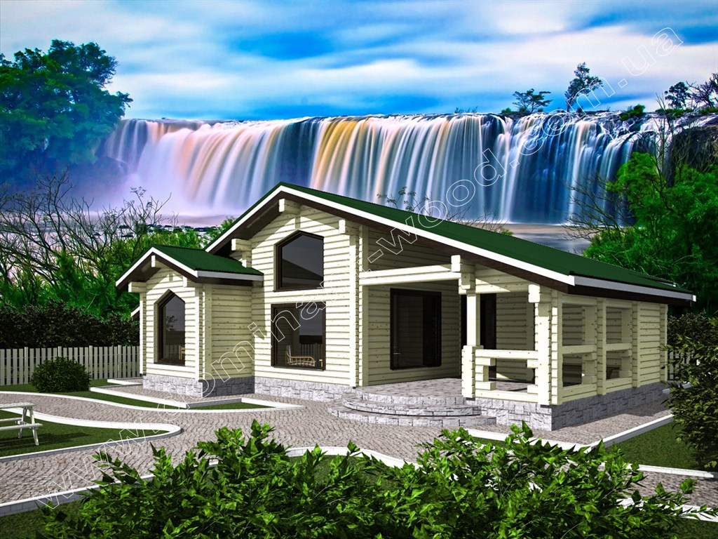 Деревянный дом «Гранль3»