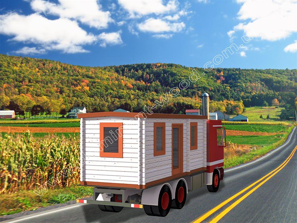 Деревянный контейнер для путешествий «Пилигрим»