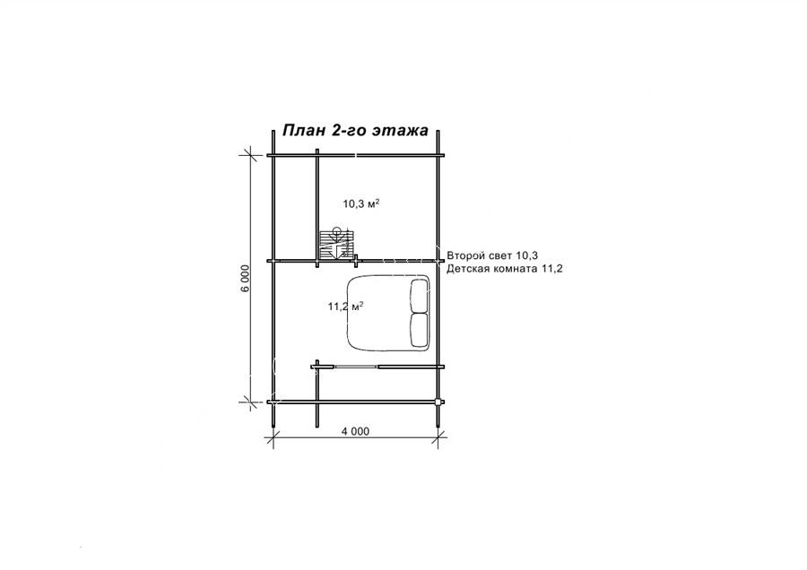 «Сильва» — проект деревянного домика