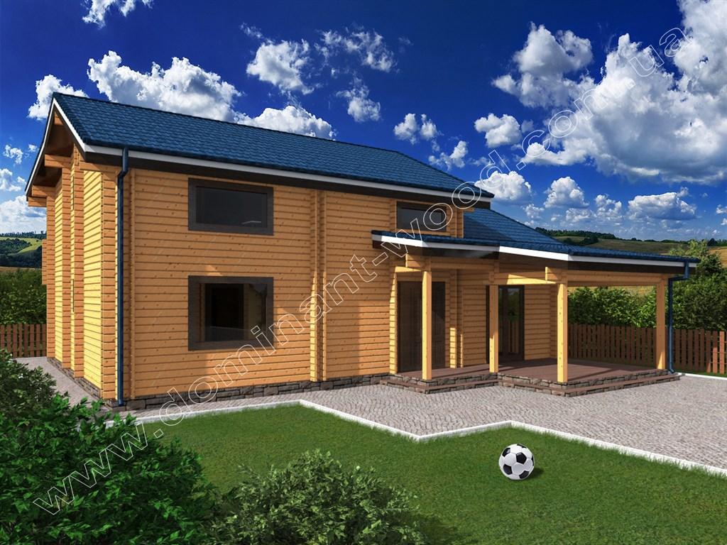 Строим дома из клееного бруса Производим качественный
