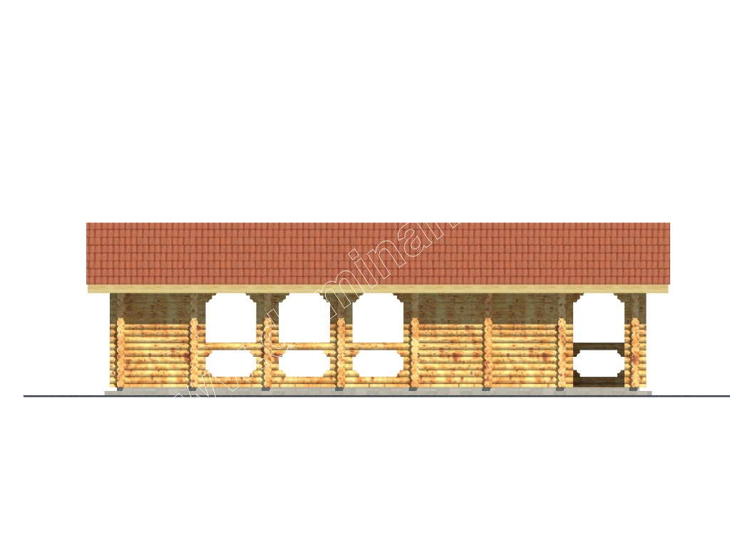 Дома из бруса под ключ недорого  Проекты и цены от СК