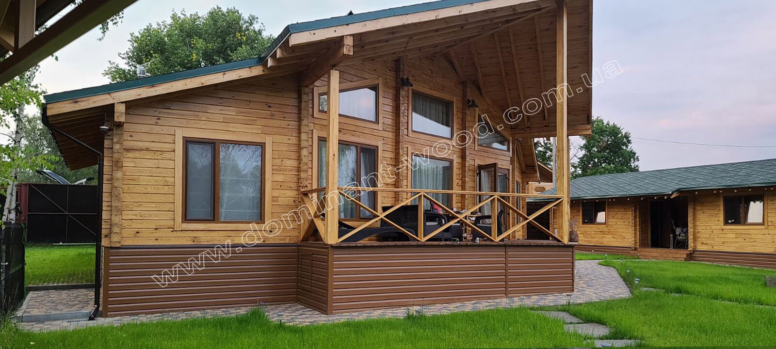 Стиль постройки дома из дерева