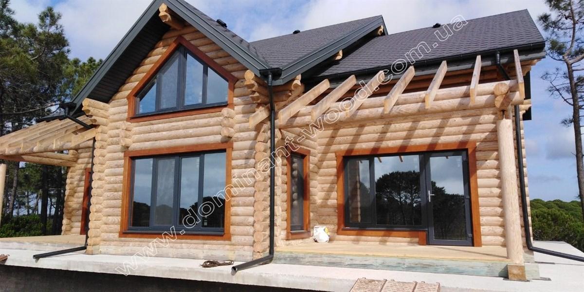 деревянный особняк