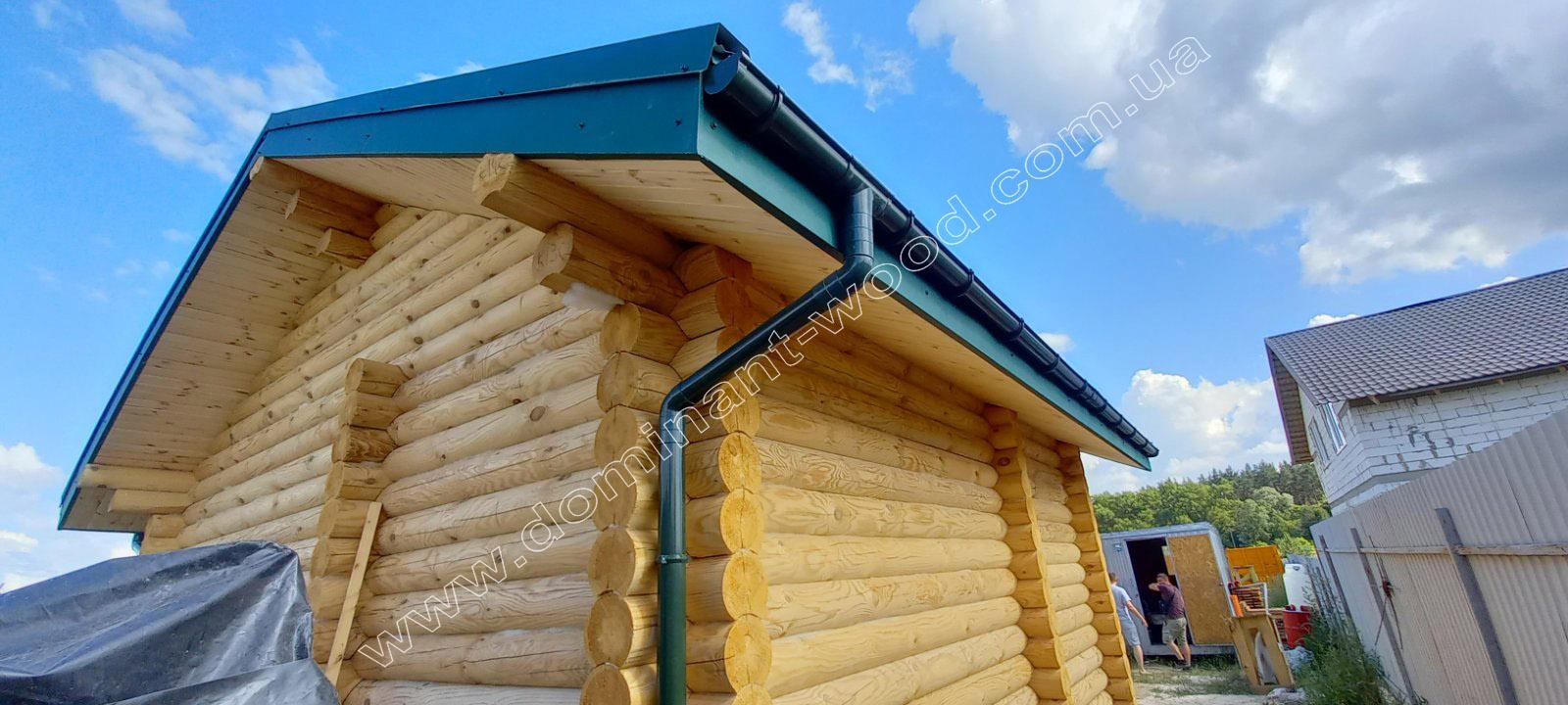 деревянная баня «Риф»