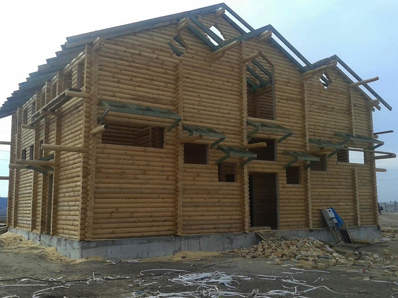 проект деревянной синагоги