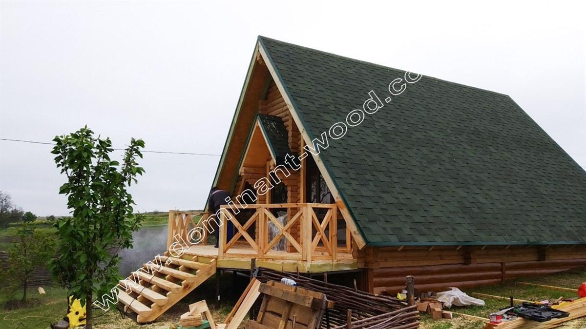 А - образный дом