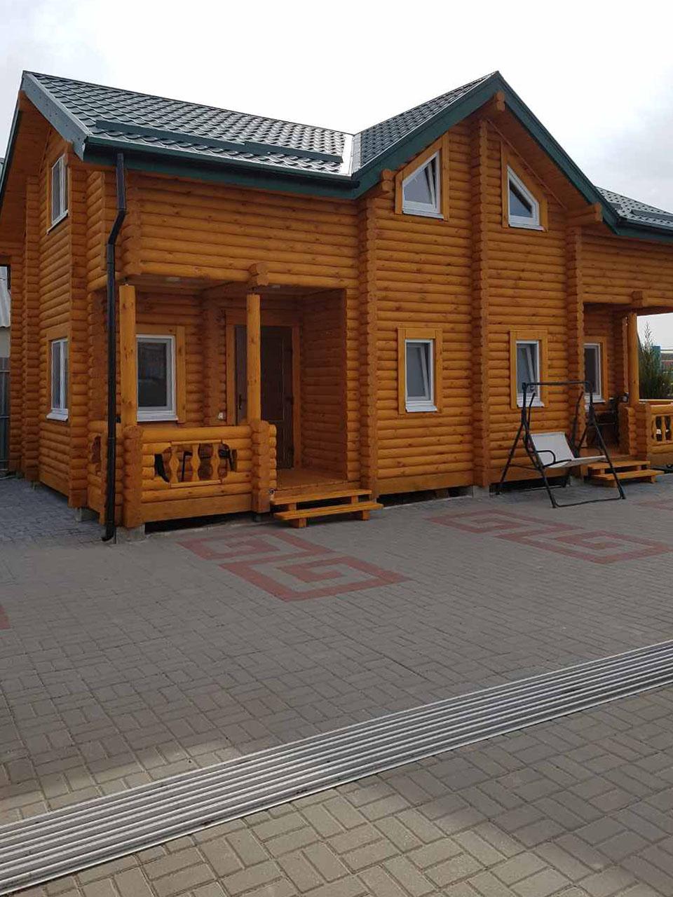 деревянный дуплекс