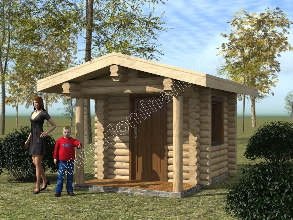 Проекты домов из бруса - наш проект в двух видах бруса