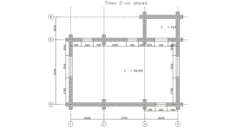 Дом на два этажа по индивидуальному проекту