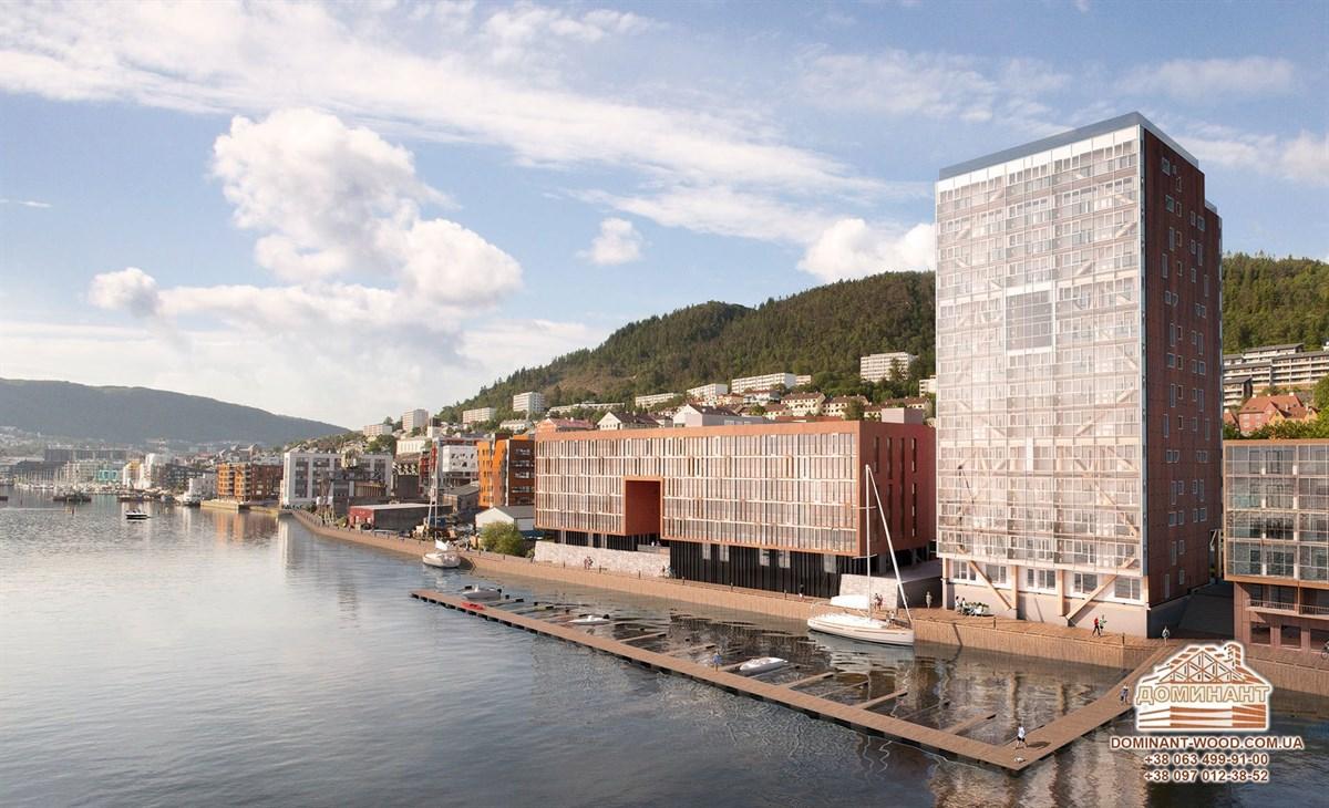 жилой комплекс «Treet Bergen»