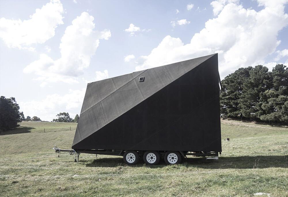 Домик Base Cabin от студии дизайна Studio Edwards
