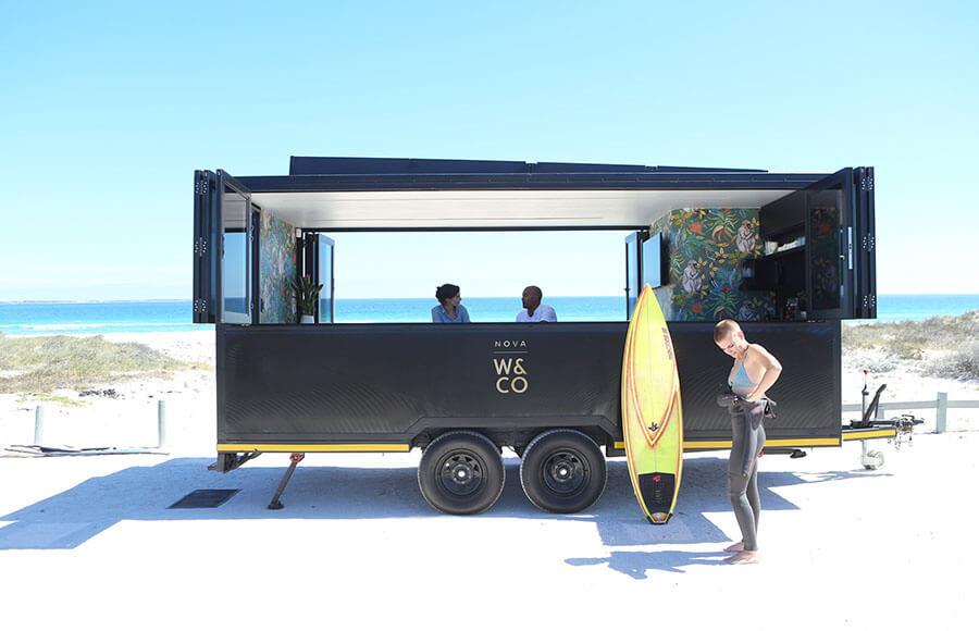 Вагончик Nova pod от Work & Co Julien Verspieren