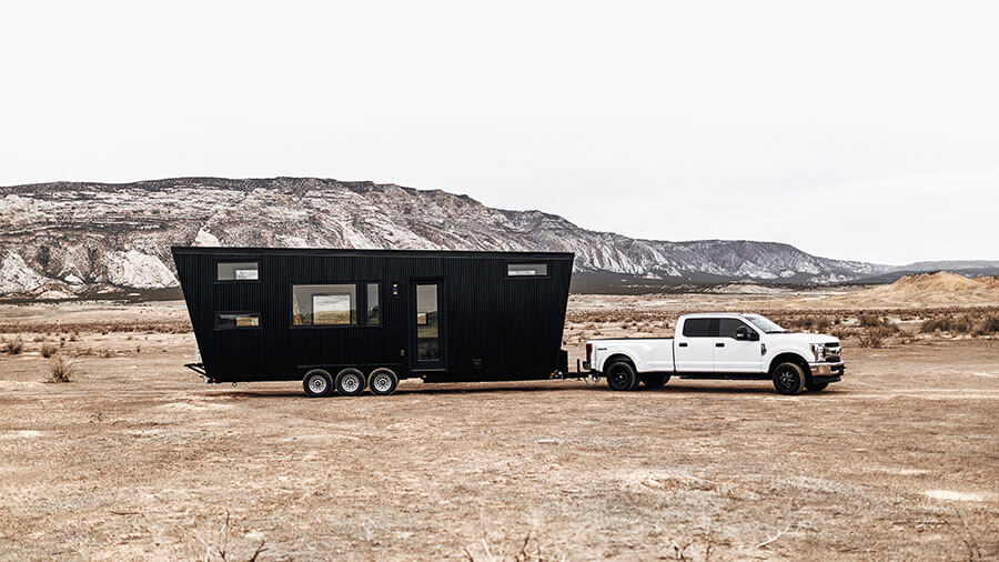 Деревянный вагончик Drake от Colorado startup Land Ark