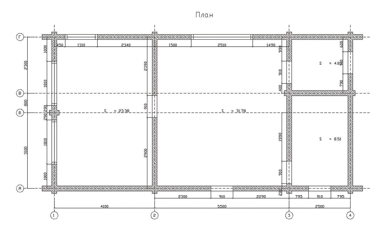 Достройка второго этажа из цельного, профилированного сухого бруса