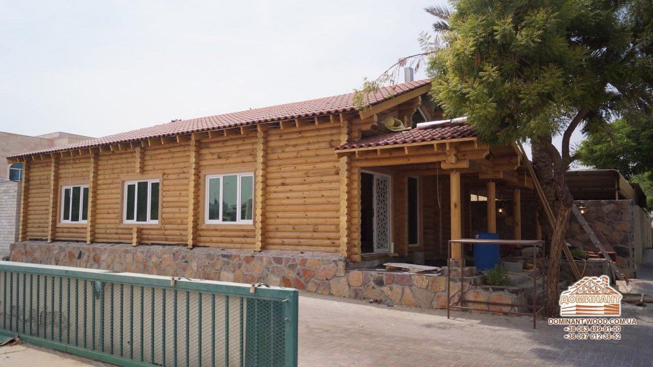 Деревянные дома на востоке