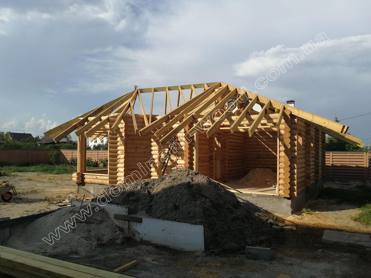 проект деревянной бани