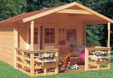 Небольшой домик из бруса фото, цена