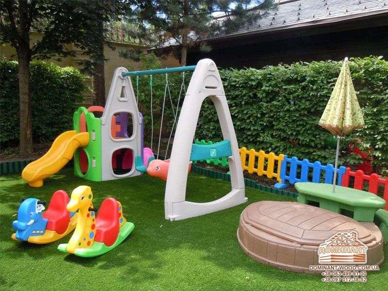 Детская площадка для маленьких детей своими руками