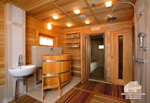 Гостевой дом баня под ключ: проект с ценой строительства в Москве | 335x490
