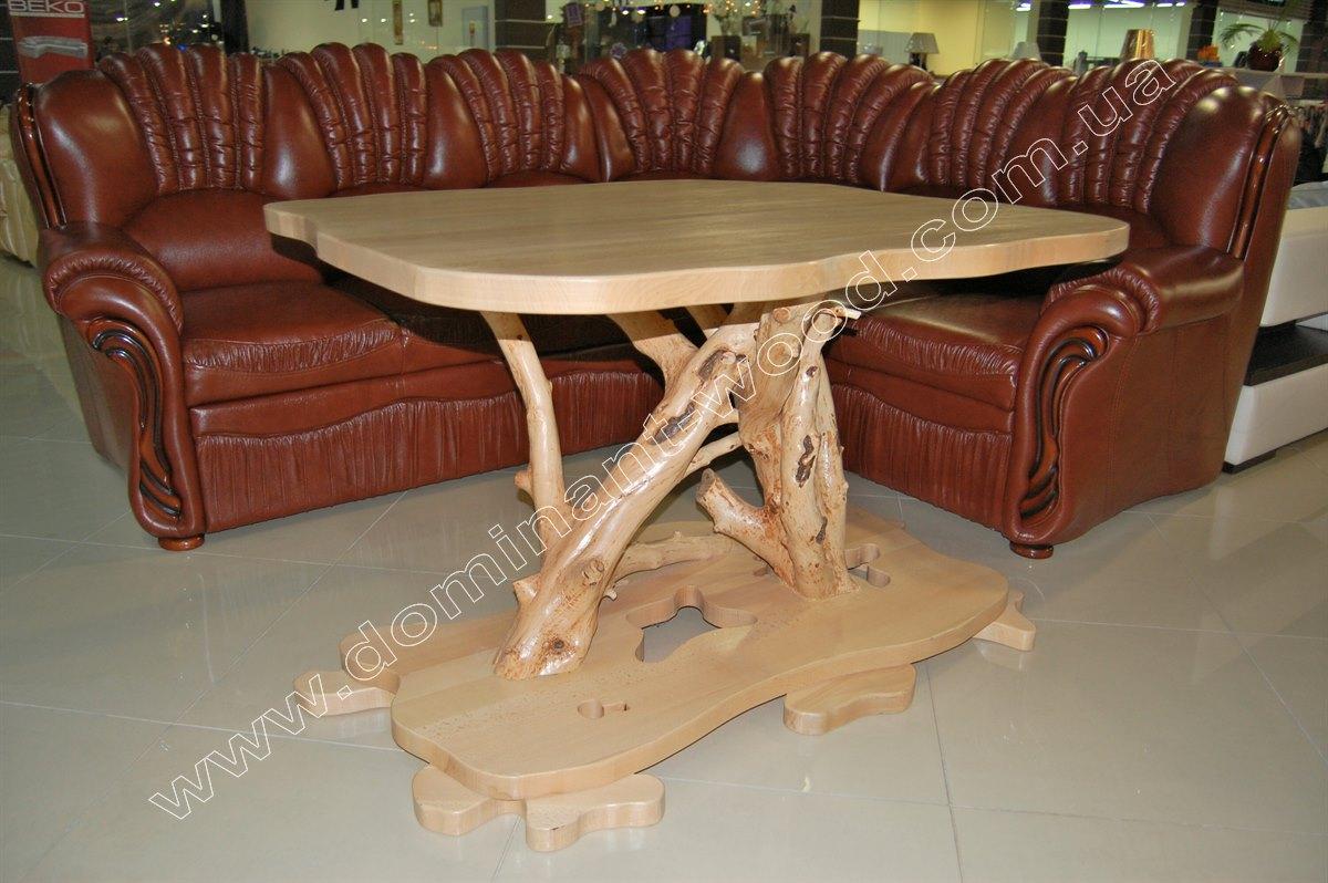 Креативный стол в гостиную