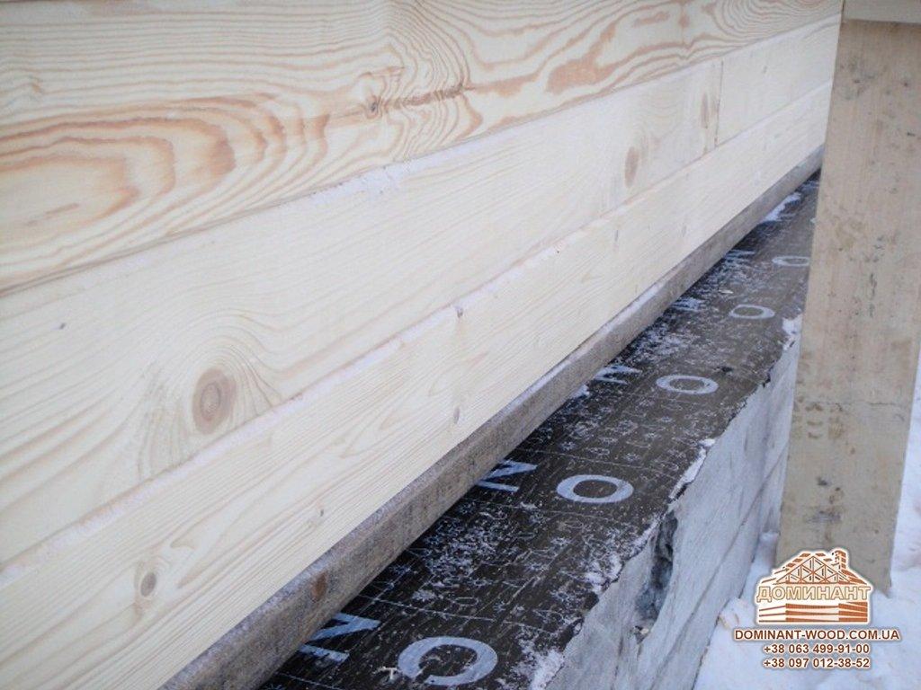 Гидроизоляция в деревянном домостроении