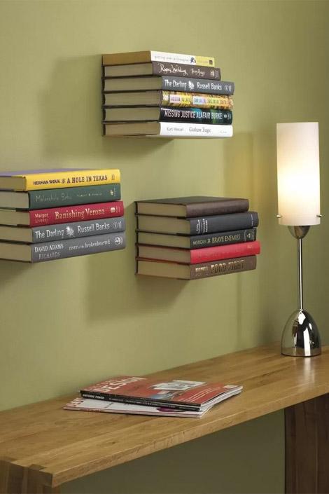 интерьер с помощью книжных полок