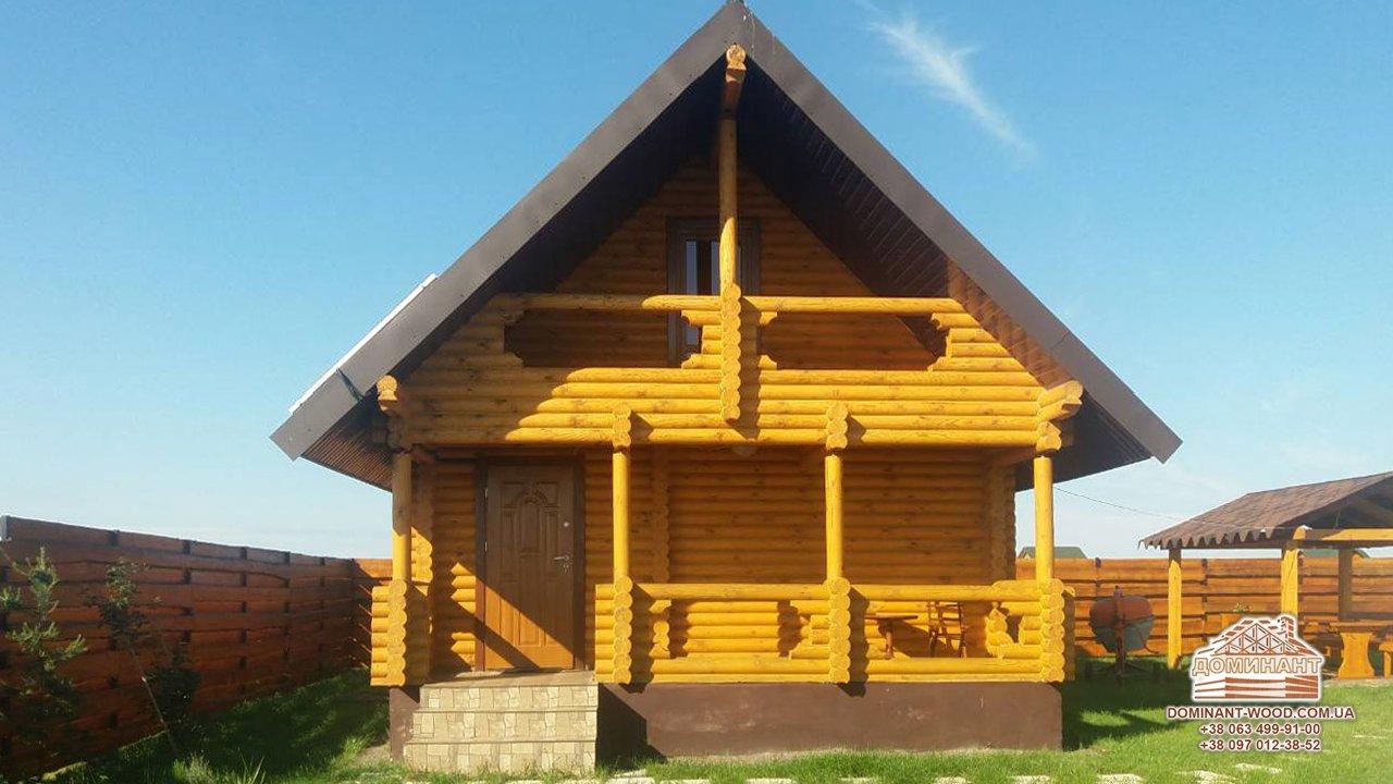Материал для возведения деревянного дома