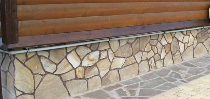 Деревянные отливы для цоколя в деревянный дом