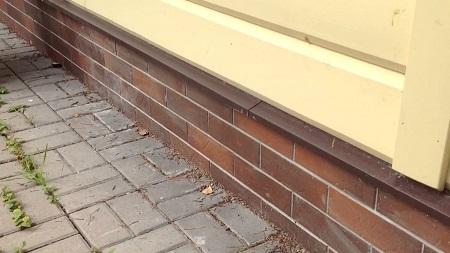 Клинкерные планки на цоколь в деревянный дом