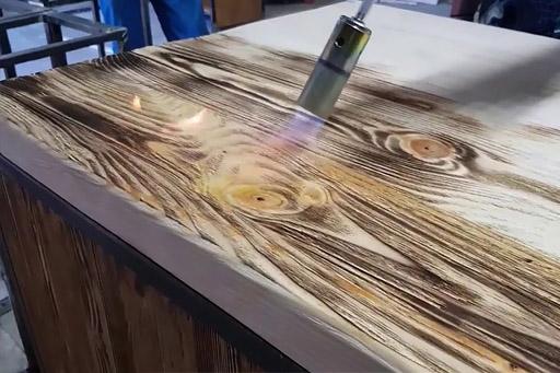 браширование мебельного щита