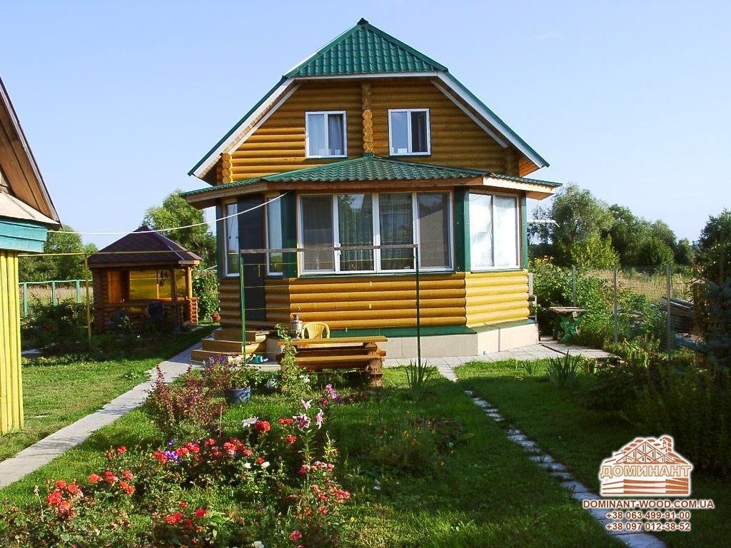 Какую форму крыши выбрать для дома из бревна