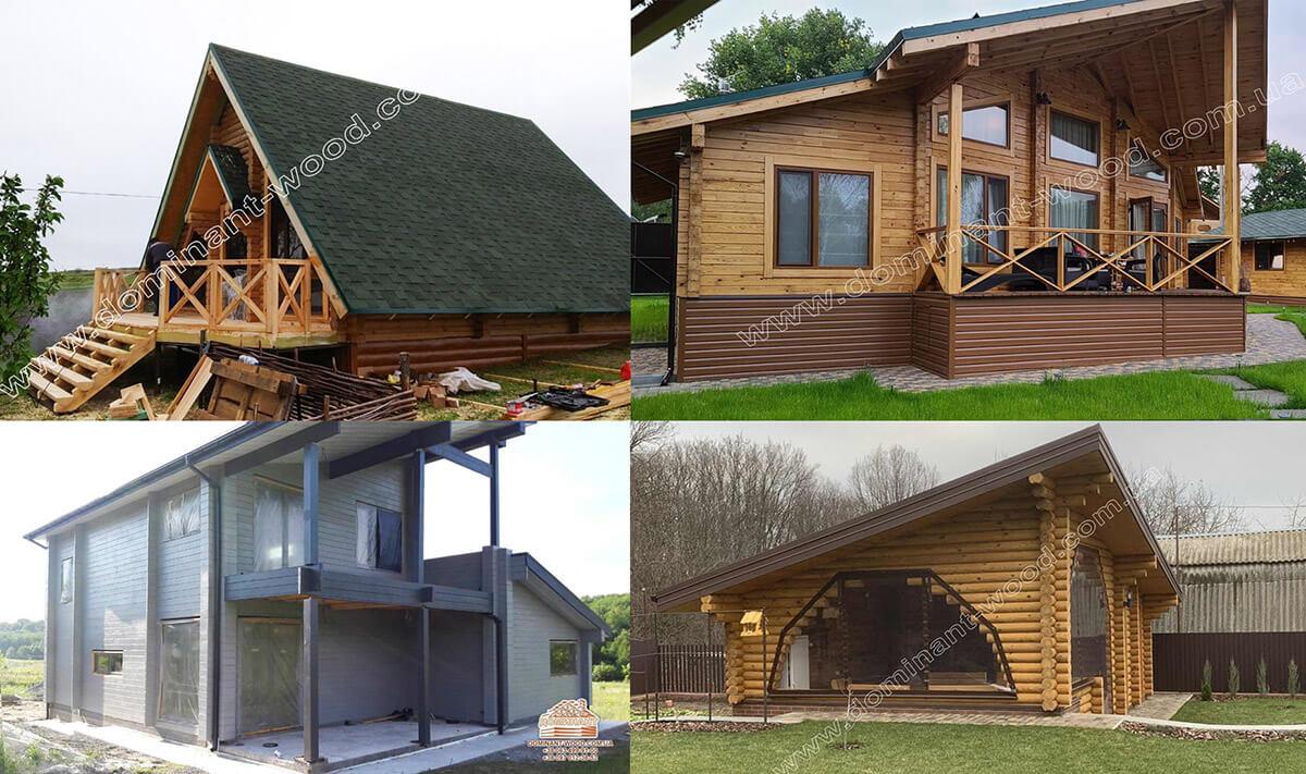 Особенности нестандартных деревянных коттеджей