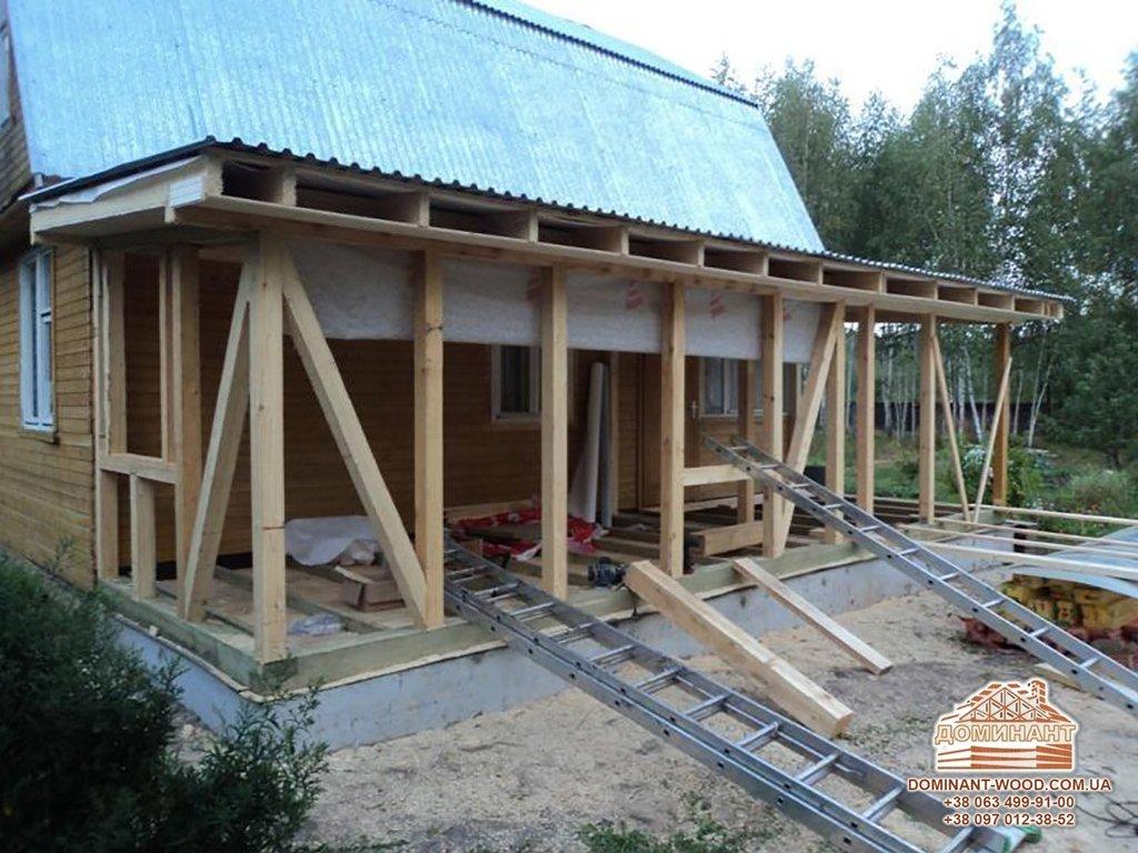 Проект веранды к дому своими руками с  133
