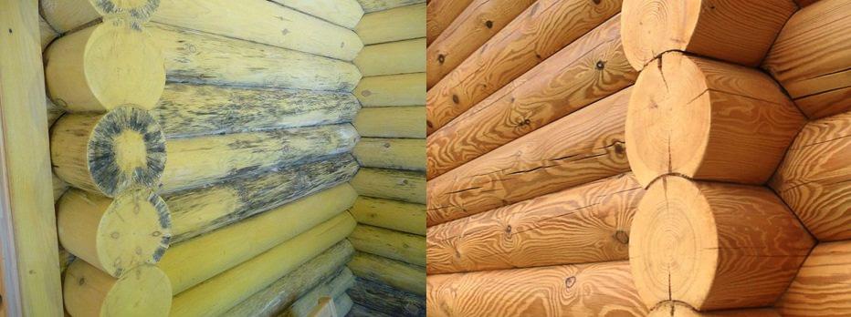 Сырость в деревянном доме