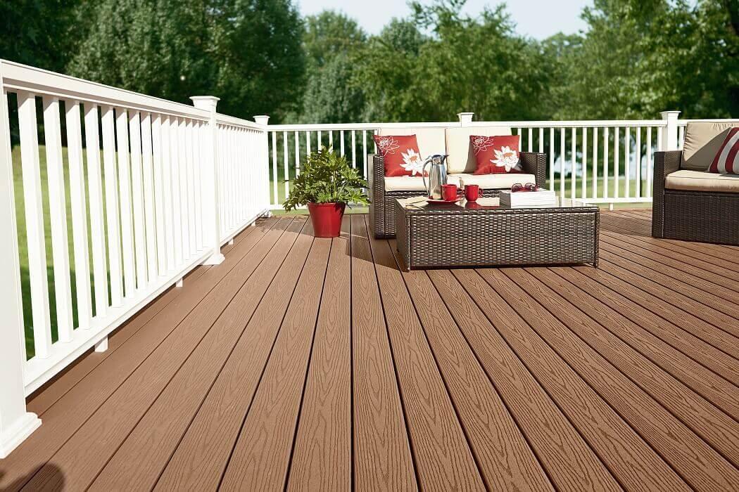Выбор материала для напольного покрытия террасы