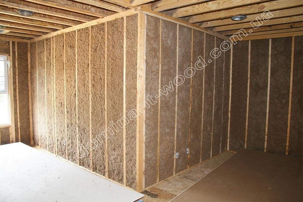 Звукоизоляция деревянных стен