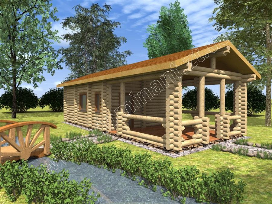 Готовые проекты деревянных домов скачать
