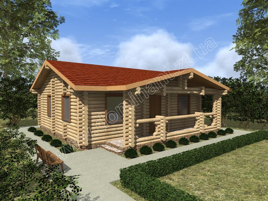 Одноповерхові проекти будинку Соул - Домінант