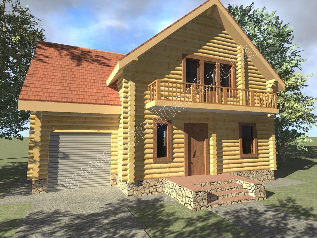 Двоповерхові проекти готових будинків - Домінант
