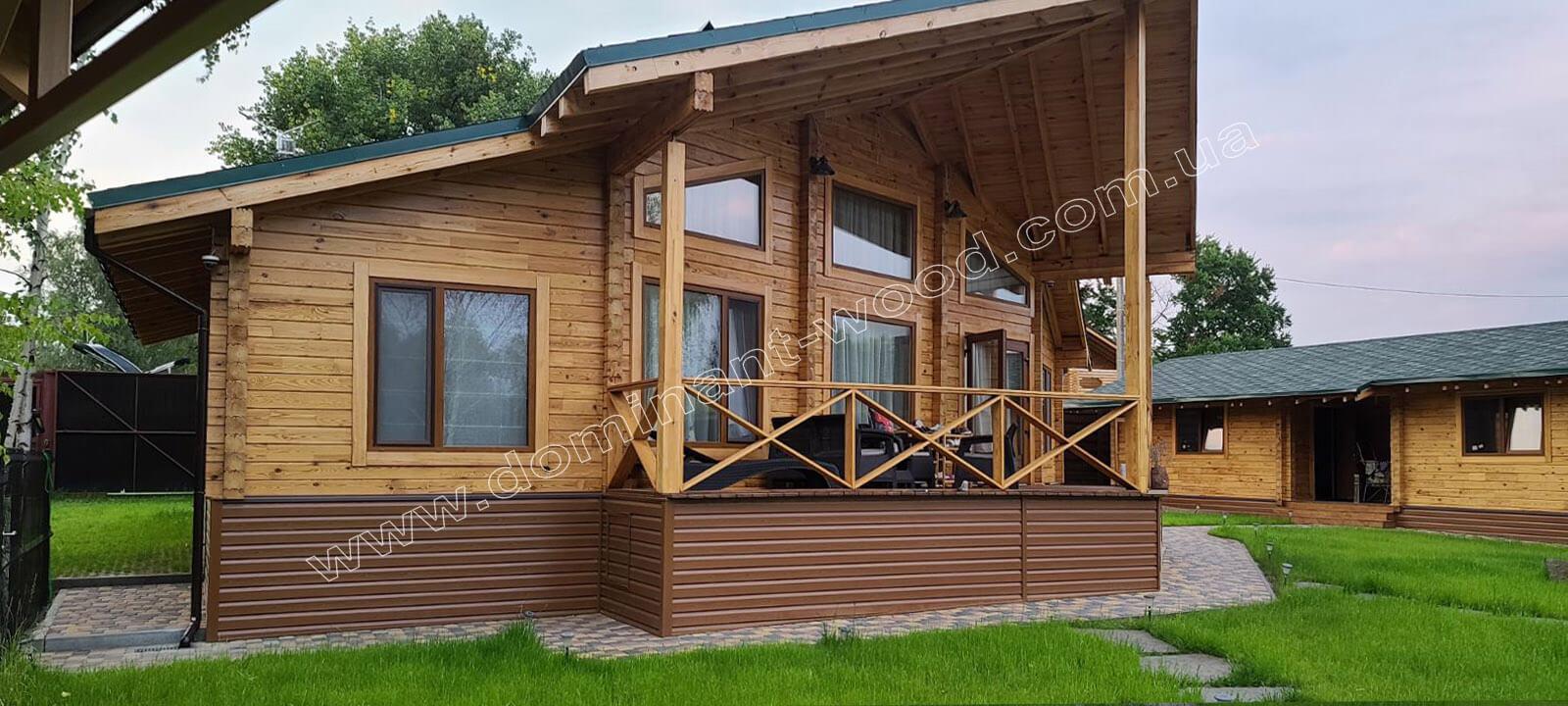 Стиль спорудження будинку з дерева