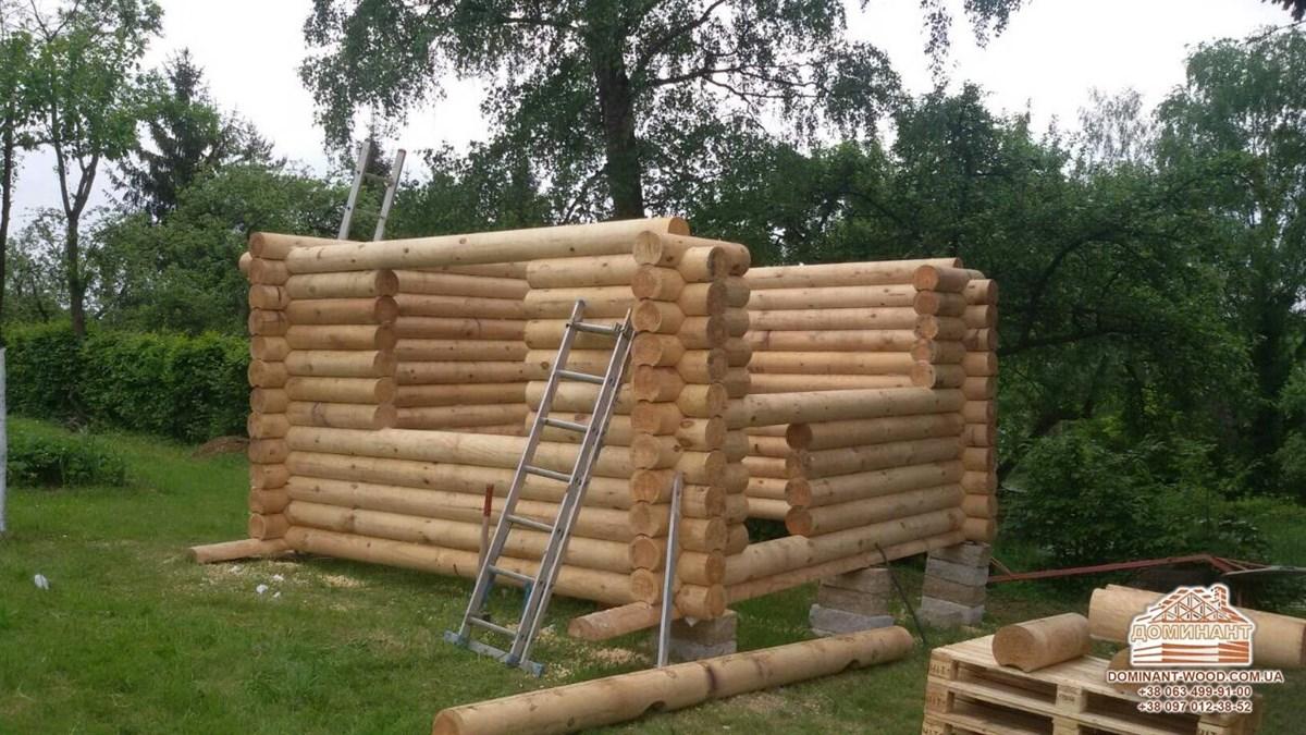 Проекти дерев'яних будинків – наш проект з двох видів брусу