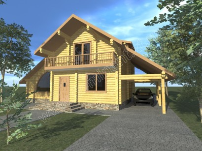 Проекти будинку з гаражем