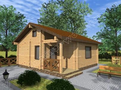 Заміські котеджі: проект нового будинку Дамрін - Домінант