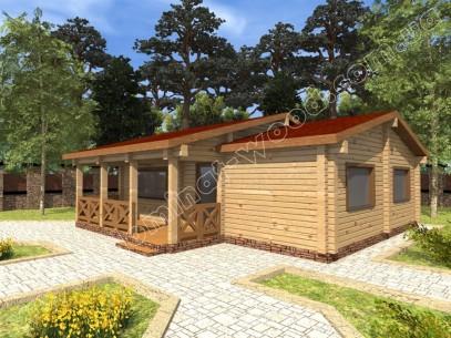 Заміські котеджі: проект нового будинку Дарах - Домінант