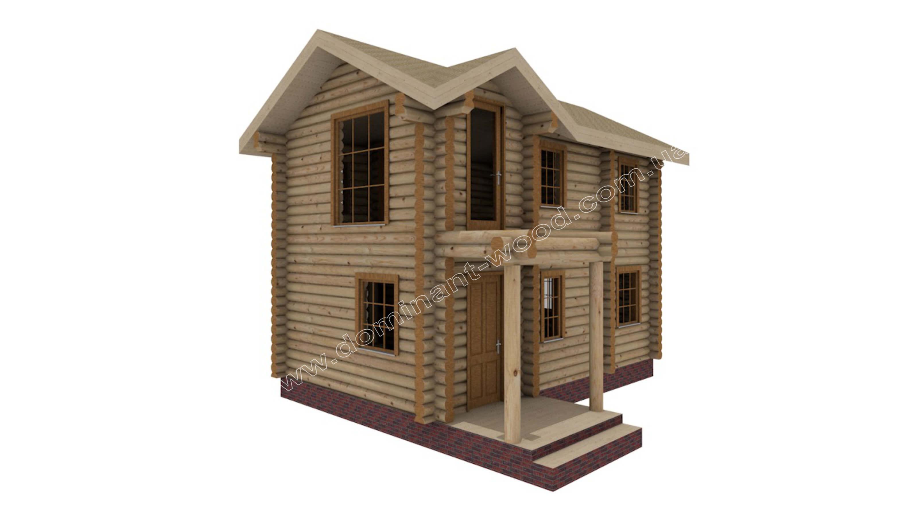 Будинок на два поверхи за індивідуальним проектом