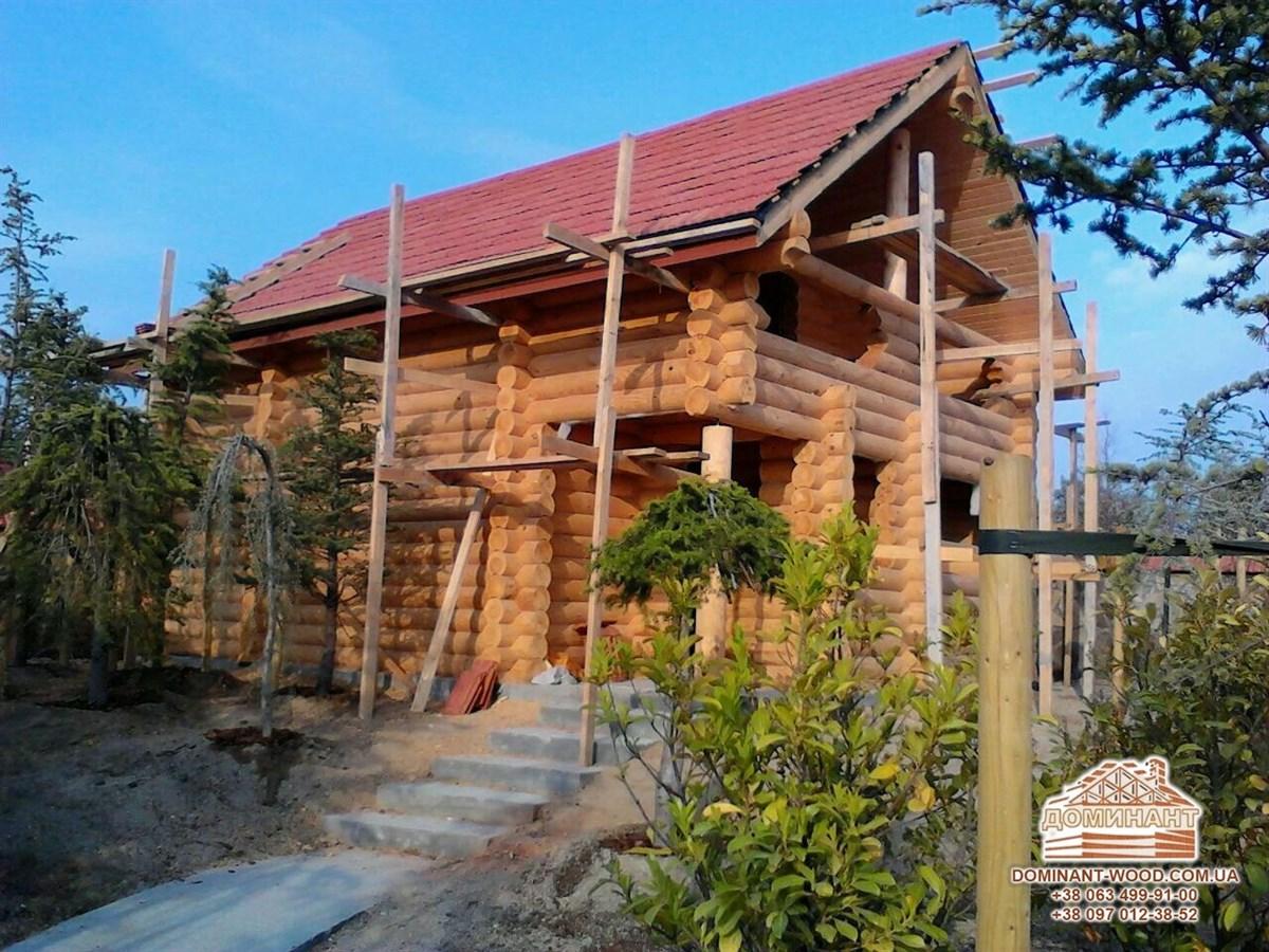 Будівництво домівок із цільних колод – наші будинки в Азербайджані - Домінант