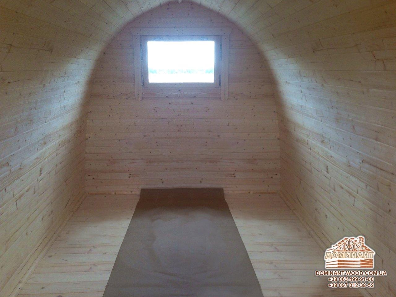 Экошел – компактный деревянный домик